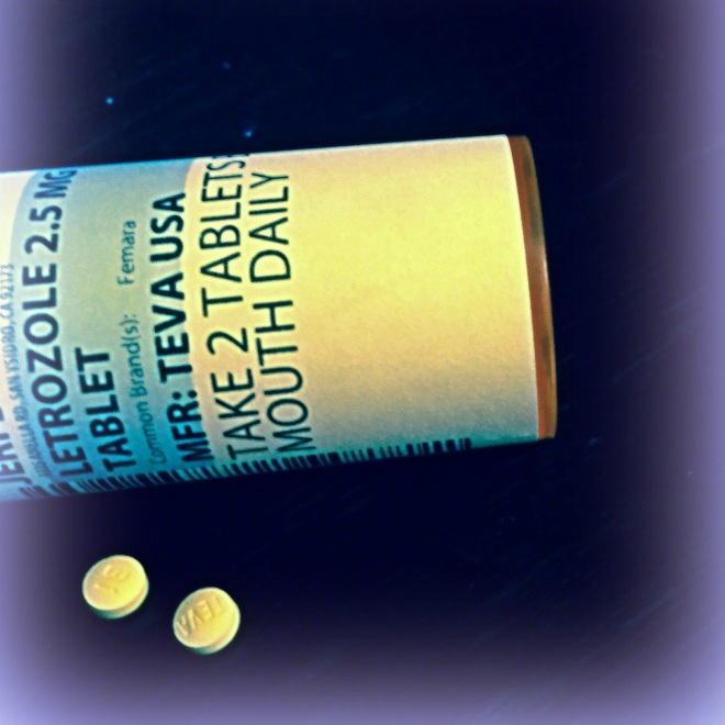 Bottle of Letrozole