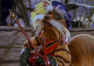 Sir Didymus, a character from Labyrinth