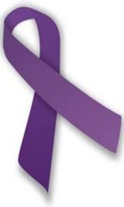 purple ribbon - child abuse