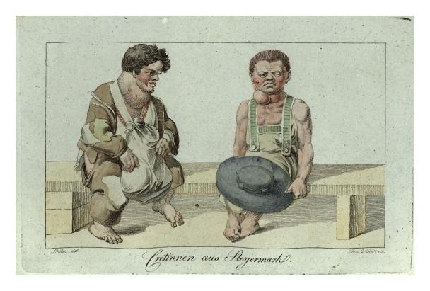 Cretinnen_aus_Steiermark,_1819_gez._Loder,_gest._Leopold_Müller