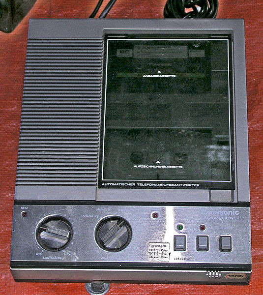 Panasonic answering mchine