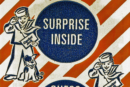 Cracker Jack surprise