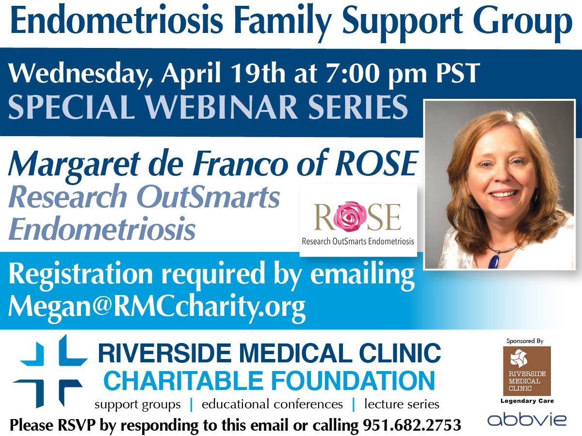 event flyer for webinar by Margaret de Franco