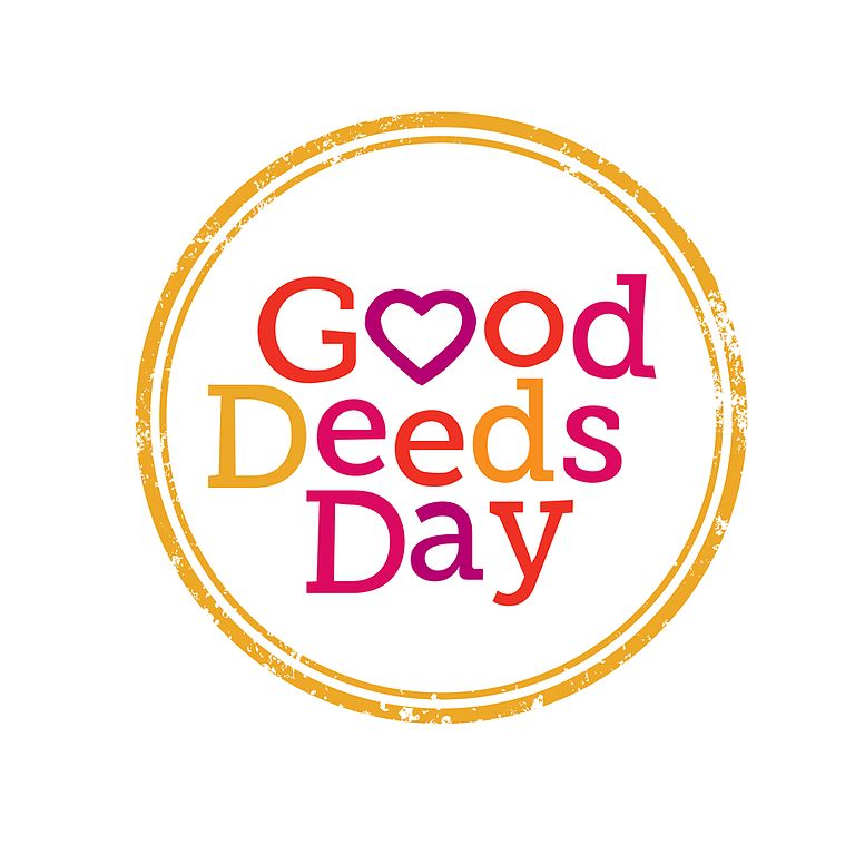 """Text that reads """"Good Deeds Day"""""""