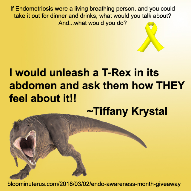 I would unleash a T-Rex in its abdomen and ask them hiw THEY feel about it!!