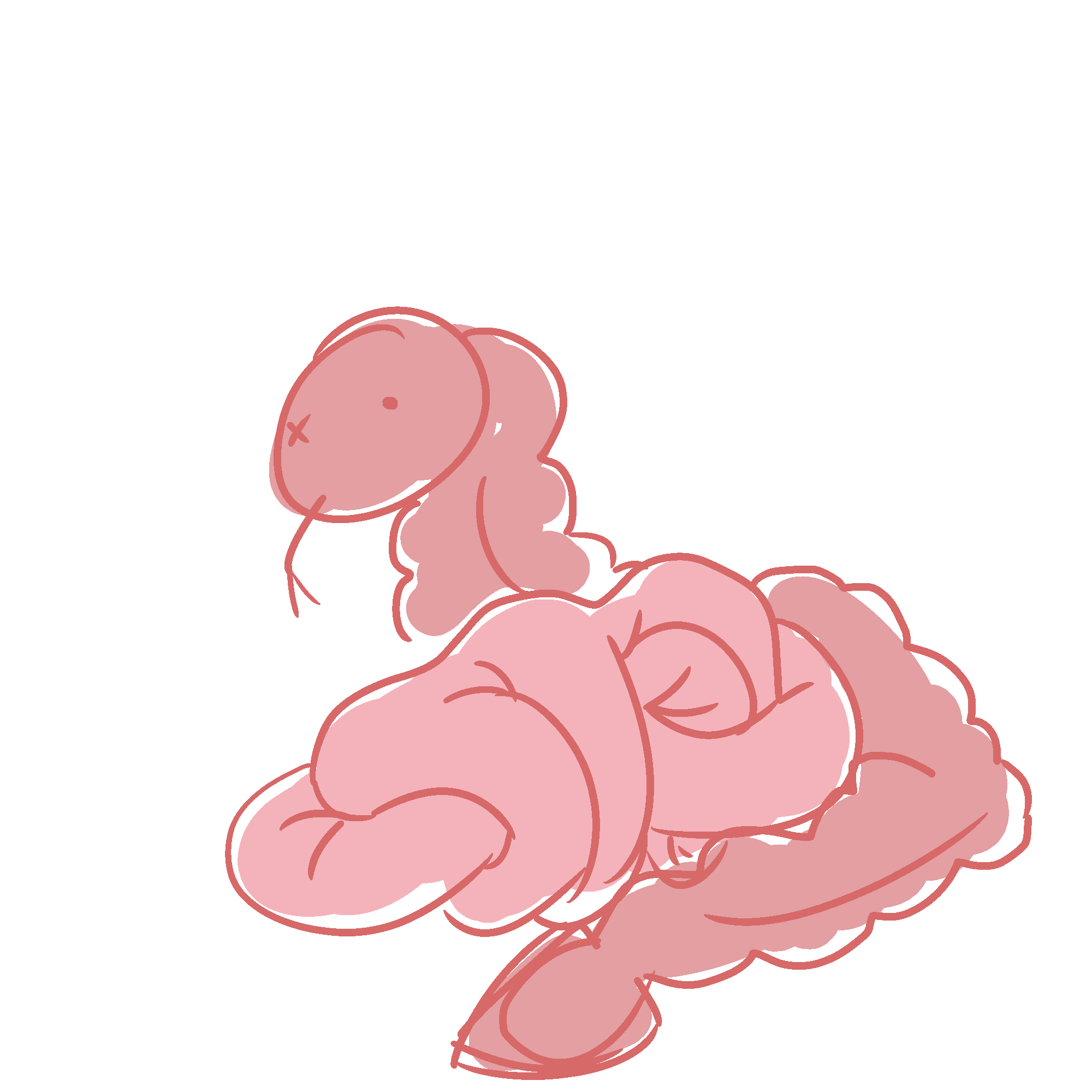 Doodle of bowels